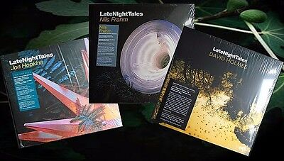 LateNightTales ~ Triple Pack Vinyl LP Bundle ~ New