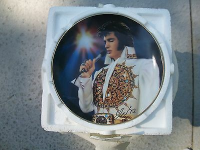 Vintage 1996 Elvis Presley Collectors Plate The Dream By Bradford Exchange