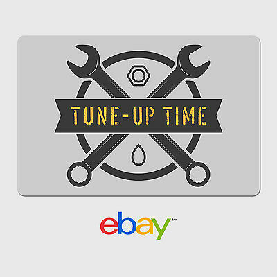 eBay Digital Gift Card - Tune-Up Time  - Email Delivery