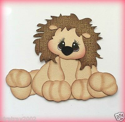 Pudgy Lion  Animal Kids Premade Paper Piecing My Tear Bears Kira
