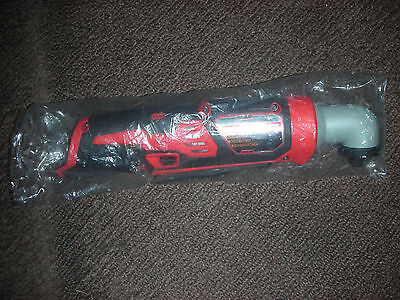 """*New* Milwaukee M12 2467-20 1/4"""" Right Angle 12V Impact Driver (Tool Only)"""