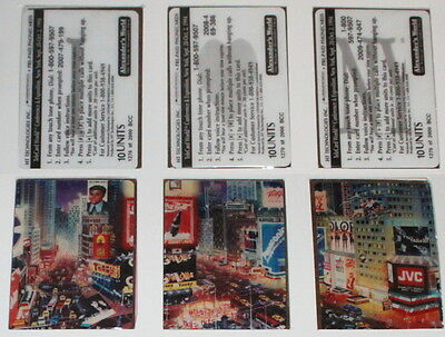 Puzzle Of 3 Phone Cards / Coca-Cola And Time Square By Alexander 's World
