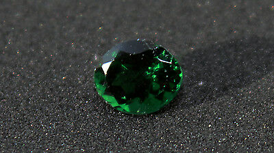 0.85 cts Exquisite Natural Tsavorite Garnet - intense green, VS clarity (rare)
