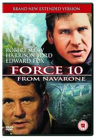 Force 10 From Navarone - 1978 - Harrison Ford - Edward Shaw - Brand New - Uk R2