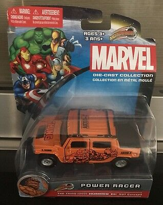 Marvel - Power Racer Die Cast Collection - The Thing