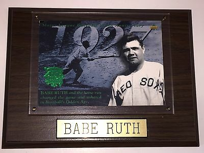 Babe Ruth New York Yankees Collector Plaque