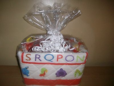 Deluxe Boy or Girl Baby Shower Gift Basket or Centerpiece