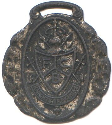 VINTAGE KNIGHTS OF PYTHIAS FOB * HUGE 38mm BY 43mm * USED * AFFORDABLE !!
