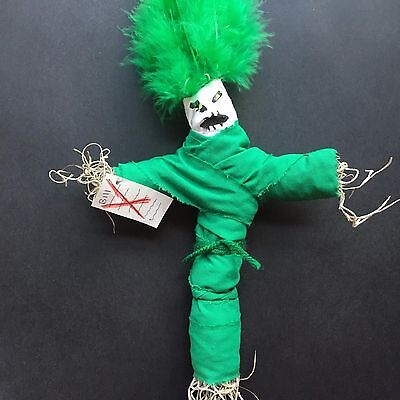 Banish All Bills Voodoo Doll Million Dollar Work Lottery Money Cash Luck Rich