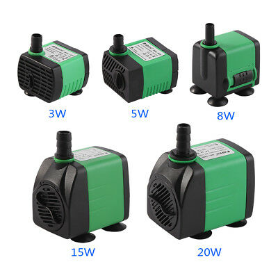 Submersible Water Pump For Aquarium Fish Tank 3W-20W 220-240V Energy Saving