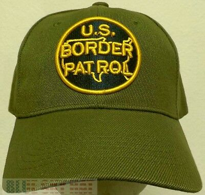 Round Classic U.s. Customs & Border Patrol Protection Agent Bpa Dhs Cbp Cap Hat