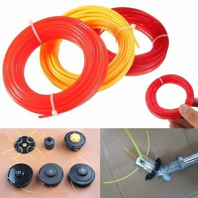 10m x 2mm  Strimmer Line Brushcutter Grass Trimmer Nylon Cord Wire Round String