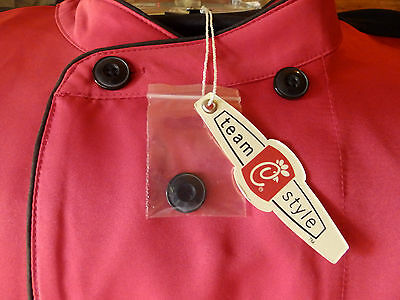 New Chick-fil-A Chefs Coat 2XL with Chefs Hat ~ True Red ~ Unisex NWT