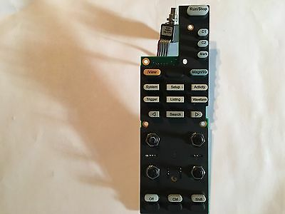 Tektronix TLA7012 679-5921-XX Logic Analyzer Front Panel Emat Touch Screen