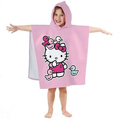 Ciao Kitty 042 839 Bath Poncho Ducky, cotone velour, 60 x 120 cm
