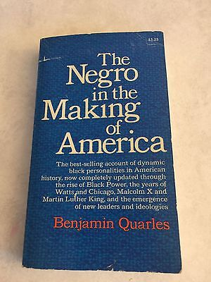 Negro in the Making of America by Benjamin Quarles (1969 Paperback) Civil Rights