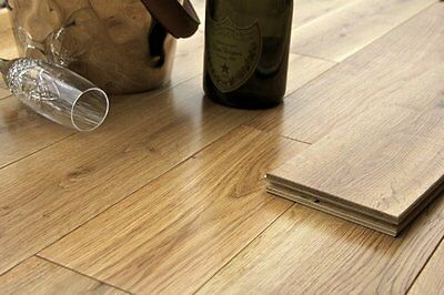 Trade Choice Engineered Natural Oak 18/4mm x 152mm Lacquered Wood Flooring