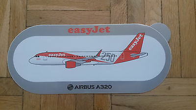 Airbus A320 250th delivery to easyJet Aufkleber Sticker