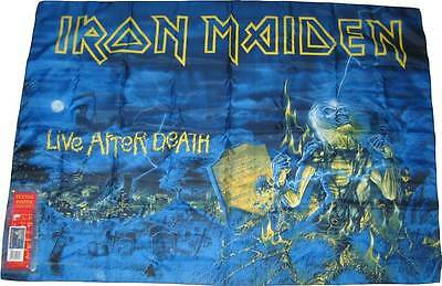 Iron Maiden Live After Dead  Poster Textile Flag New In Box