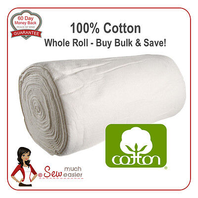 Cotton Batting for Quilts Patchwork Quilt Wadding for Quilting warm and natural
