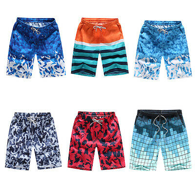 M-4XL Men Swimming Board Shorts Beach Swim Short Trunks Boys Swimwear New Design