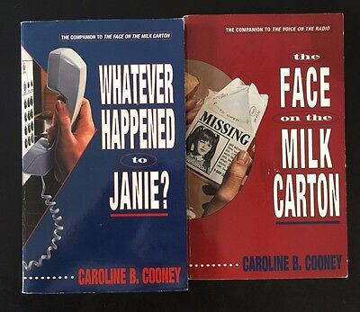 Caroline B Cooney lot of 6 Young Adult books (VINTAGE) ~ Face On The Milk Carton