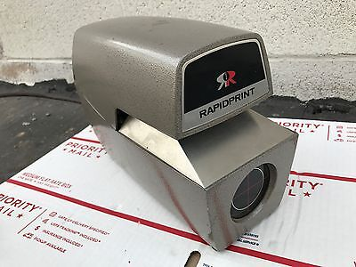 Rapidprint AR-E Date Time Document Recorder Stamp Industrial