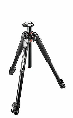 Manfrotto MT055XPRO3 055 aluminium 3-section tripod, with horizontal column. NEW