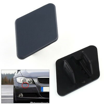 2x LH & RH Front Bumper Headlight Washer Cover Cap For BMW 3 Series E90 05-09