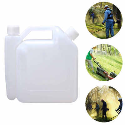 1L Oil Petrol Fuel Mixing Bottle Tank Container 25:1 50:1 For 2 Stroke Chainsaw