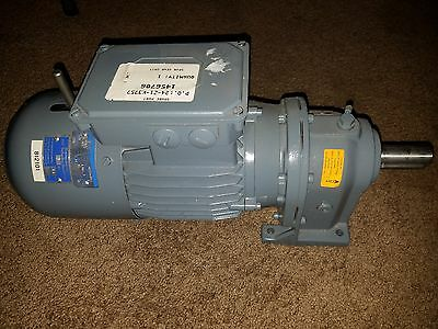 New Carl Rehfuss Helical Gear Motor Typ Sr220L-80S-4-Br03