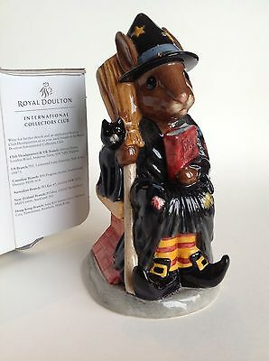 Witching-Time Bunnykins Toby Jug D7166 Royal Doulton, Limited Edition, WITH BOX