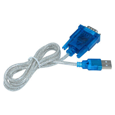 USB to RS232 Serial Port 9 Pin DB9 Cable COM Port Adapter Convertor For CH340