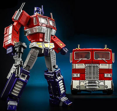 "KBB Transformers Optimus Prime G1 Style 8"" Toy Action Figure Doll New In Box"