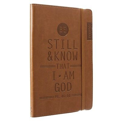 Bible Journal Notebook Leather Diary Notepad Prayer Scripture Daily Devotions Ps