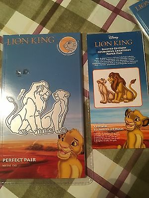 Tattered Lace Disney Lion King Limited Edition Die Cutter With 4 Creations Sheet