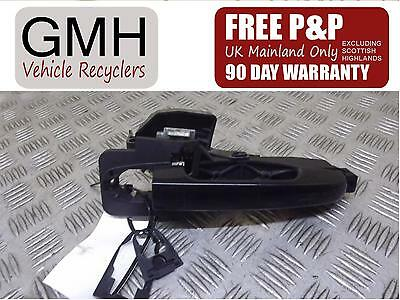 Kia Ceed Right Driver Offside Front Outer Door Handle Black 2007-2009♪§