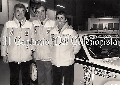 Officine REANULT pilota Jean RAGNOTTI Patrick LONDON car racing *Foto CBBD163