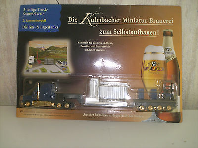 lot D, GRELL, camion usine fenwick,  KULMBACHER,  neuf, ho, 1/87, sous blister