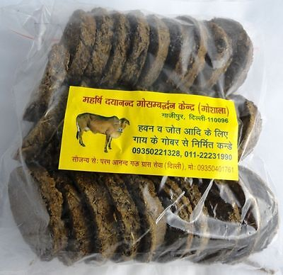 Cow dung cakes 300pc Havans rituals Charity yoga positive energy wealth MAGIC