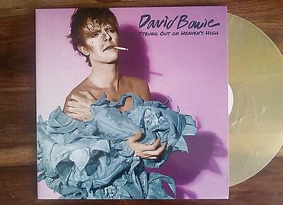 DAVID BOWIE  strong out on heaven high vinile colorato