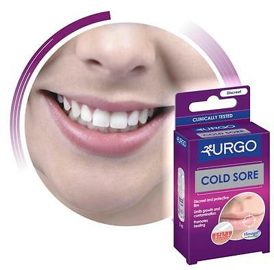 URGO HERPES Cold Sore Discreet Treatment , Isolating Dressing-Gel 3ml
