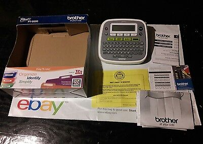 brother p touch pt d210 label maker manual
