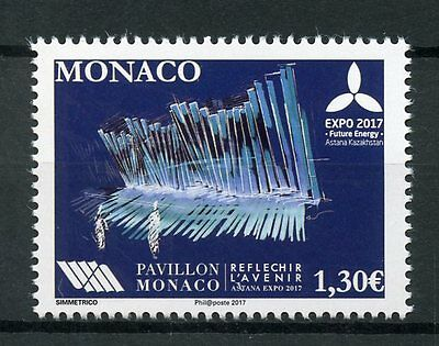 Monaco 2017 MNH Astana Expo 2017 Future Energy Kazakhstan 1v Set Science Stamps