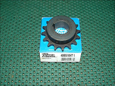 40Bs16Ht-1 Martin Sprocket 1In Bore 16Teeth 40Bs16Ht1 ~ New In Box