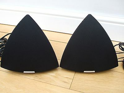 Bang & Olufsen BeoLab 4 Active Speakers with black frets