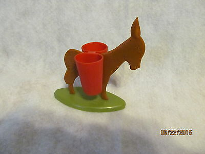 Burro Toothpick or Match Holder Made of Plastic