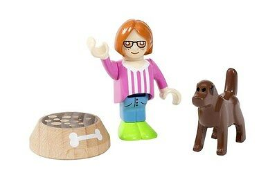 BRIO world Figur mit Hund 33952