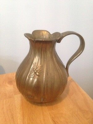 Vintage Cast Iron Jug With Wasp/Bee
