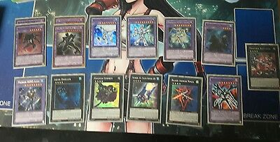 yugioh cards masked hero/yosenju/u.a. deck and extras